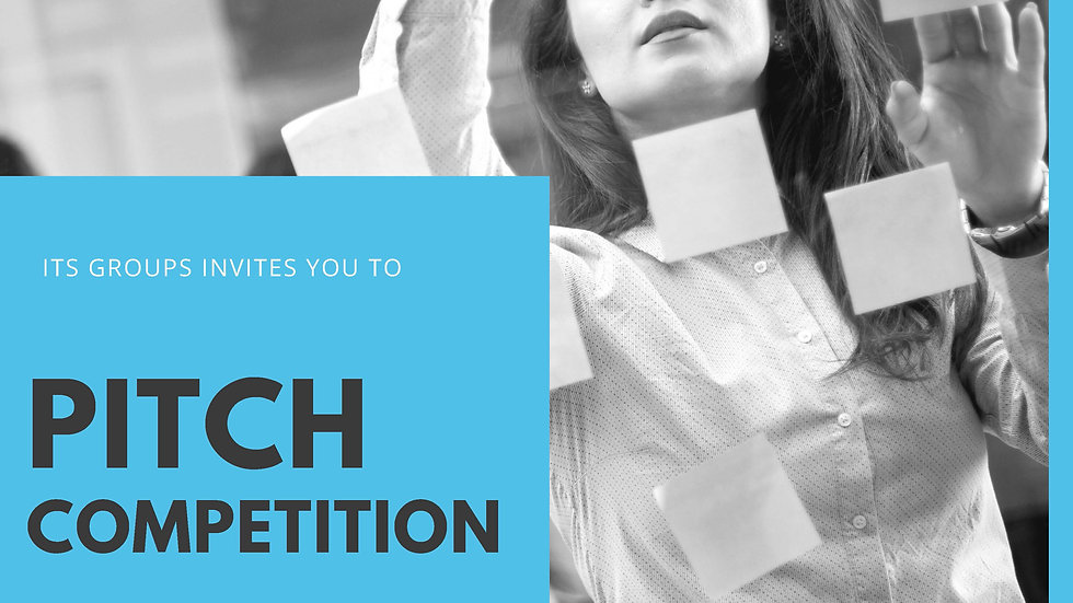 November Pitch Competition