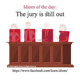 The jury is still out