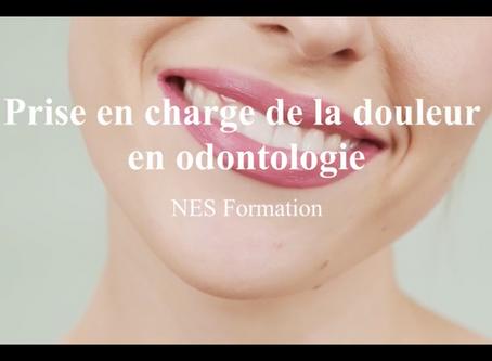 """Focus sur notre formation DPC: """"la douleur en odontologie"""", par le Dr Nathan Moreau"""