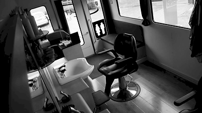 Inside Mobile Salon