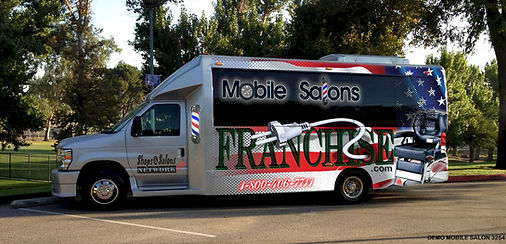 Mobile Salon Franchise Graphics