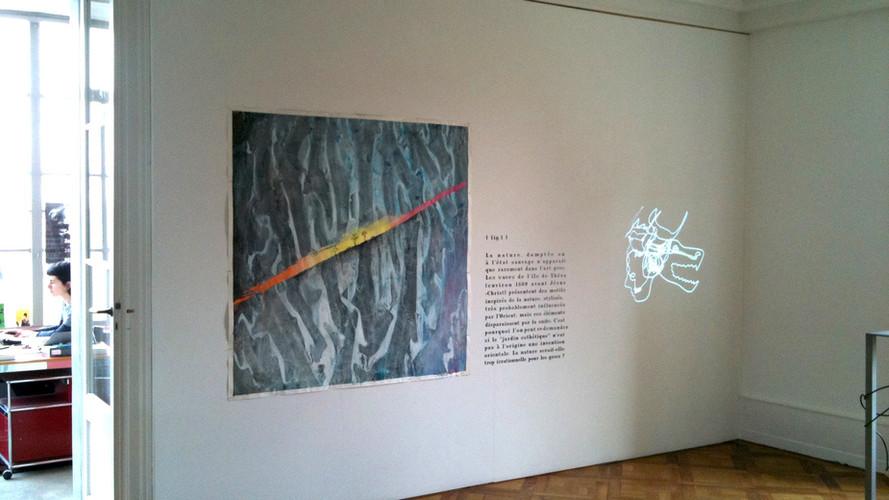 Exhibition view (detail)