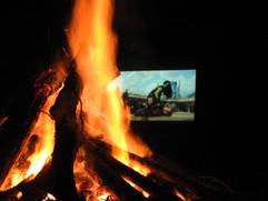 Bonfire and Movie