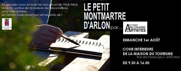 Petit Montmartre d'Arlon - 01/08/2021