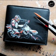 Custom cuir - portefeuilles moto-motard - avril 2021