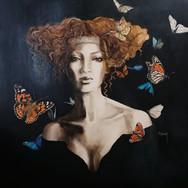 Sonia Ansiaux - Hope - acrylique sur panneau - 71x71