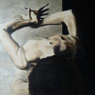 """Sonia Ansiaux - série """"danse"""" - acrylique 50-50"""