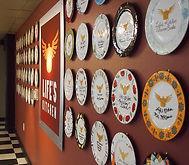 LK Cafe Wall