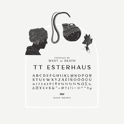 TT Esterhaus - Typeface
