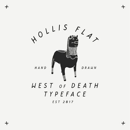 Hollis Flat Typeface