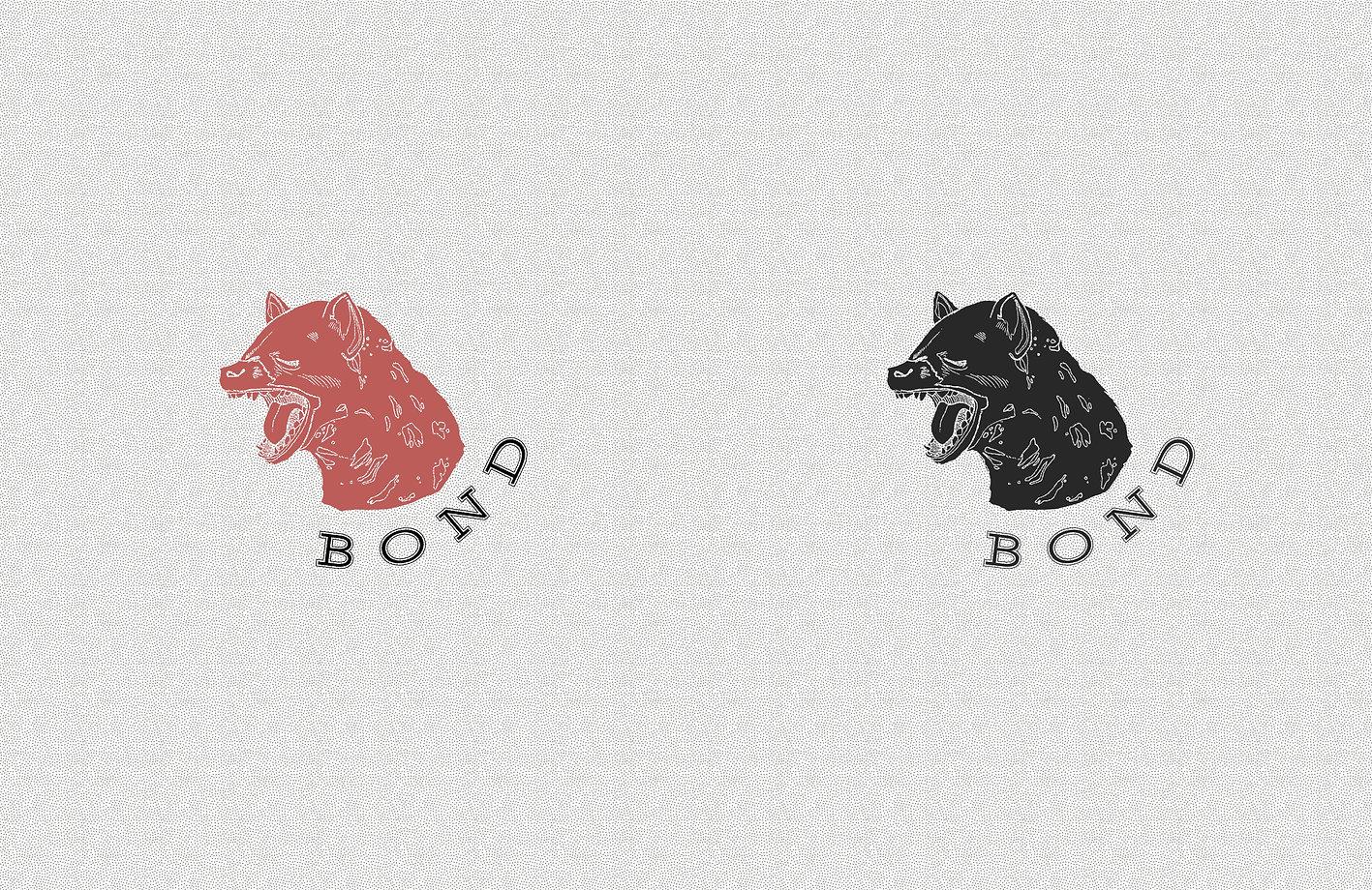 BOND BRANDSHEET LOGO curved text HYENA H