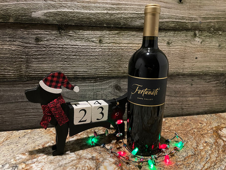 Christmas Wine Countdown With Fortunati