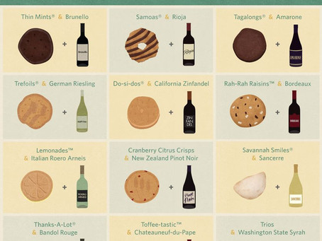 Wine Pairing With Girl Scout Cookies