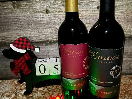 Christmas Wine Countdown With Benessere Vineyards