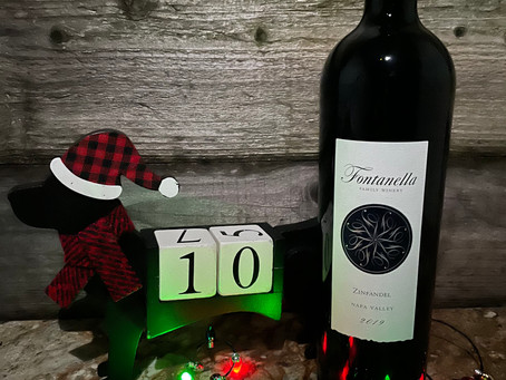 Christmas Wine Countdown With Fontanella Family Winery