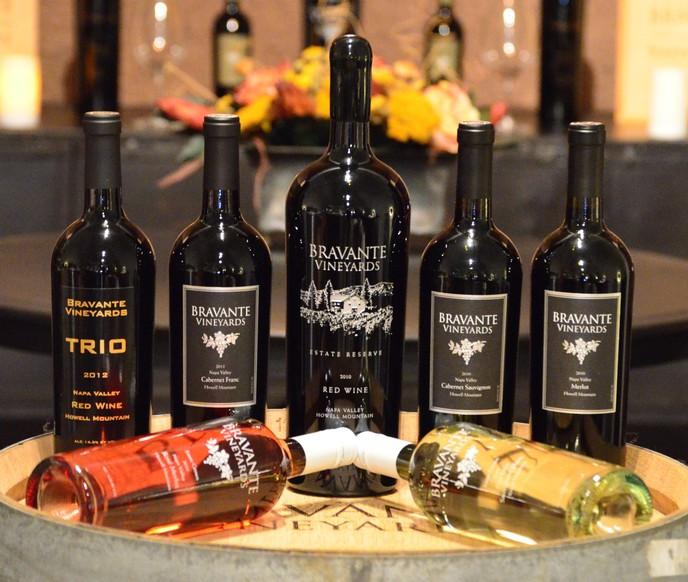Bravante Vineyards Offerings