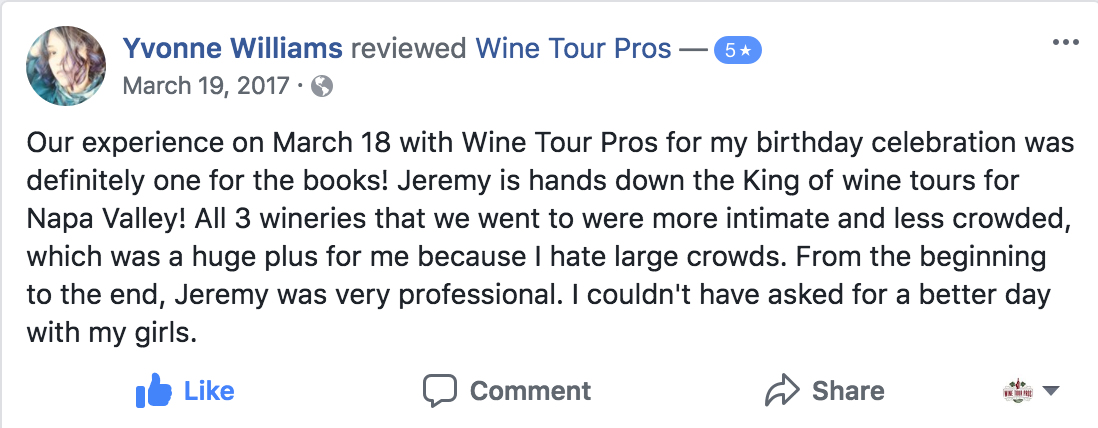 Yvonne Williams FB Review