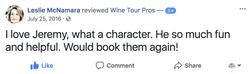 Leslie McNamara  FB Review