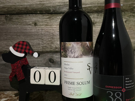 Christmas Wine Countdown With Prime Solum