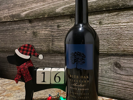 Christmas Wine Countdown With Blue Oak Vineyards