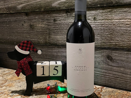 Christmas Wine Countdown With Andrew Geoffrey Vineyards