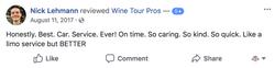 Nick Lehmann FB Review