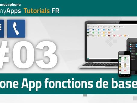 Phone App Fonction de base