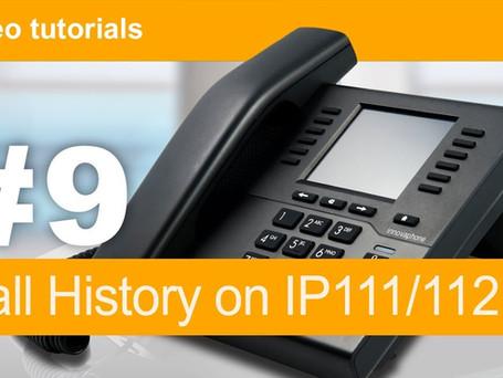 Historique d'appels