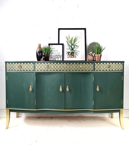 Strongbow Green sideboard