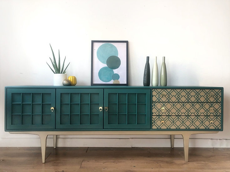 mid century modern younger sideboard