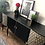Thumbnail: Black and gold strongbow sideboard