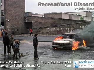 Studio Exhibition: Lawrence Building, Derry - June 2014