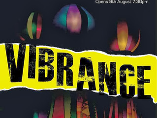 Barrier 14: Installation Vibrance Exhibition August 2013