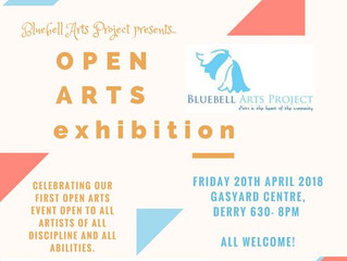 Open Arts Exhibition: Bluebell Arts Project