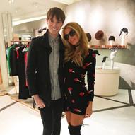 Richard Brownlie-Marshall & Paris Hilton
