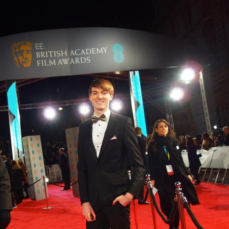 Richard Brownlie-Marshall at the BAFTAs