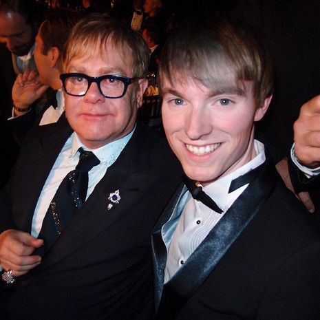 Richard Brownlie-Marshall & Elton John