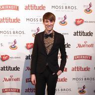 Richard Brownlie-Marshall at Attitude Awards