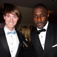 Richard Brownlie-Marshall & Idris Elba