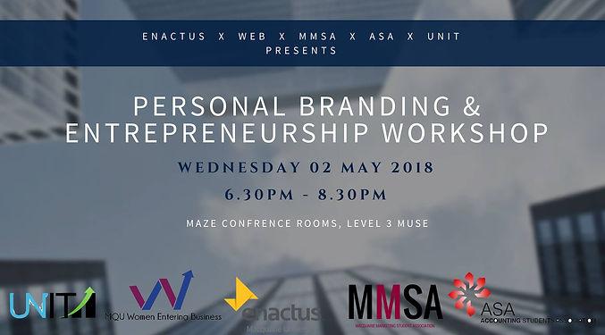 Personal Branding & Entrepreneurship Wor