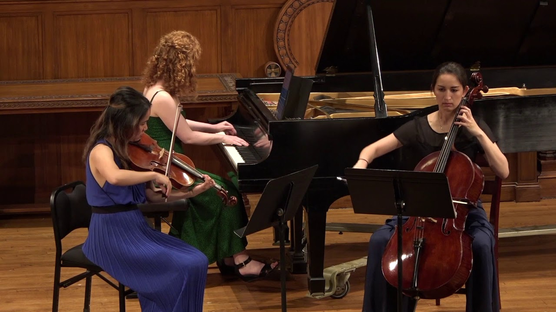 Ensemble Illume plays Brahms Trio in A minor, Op. 114, IV. Allegro