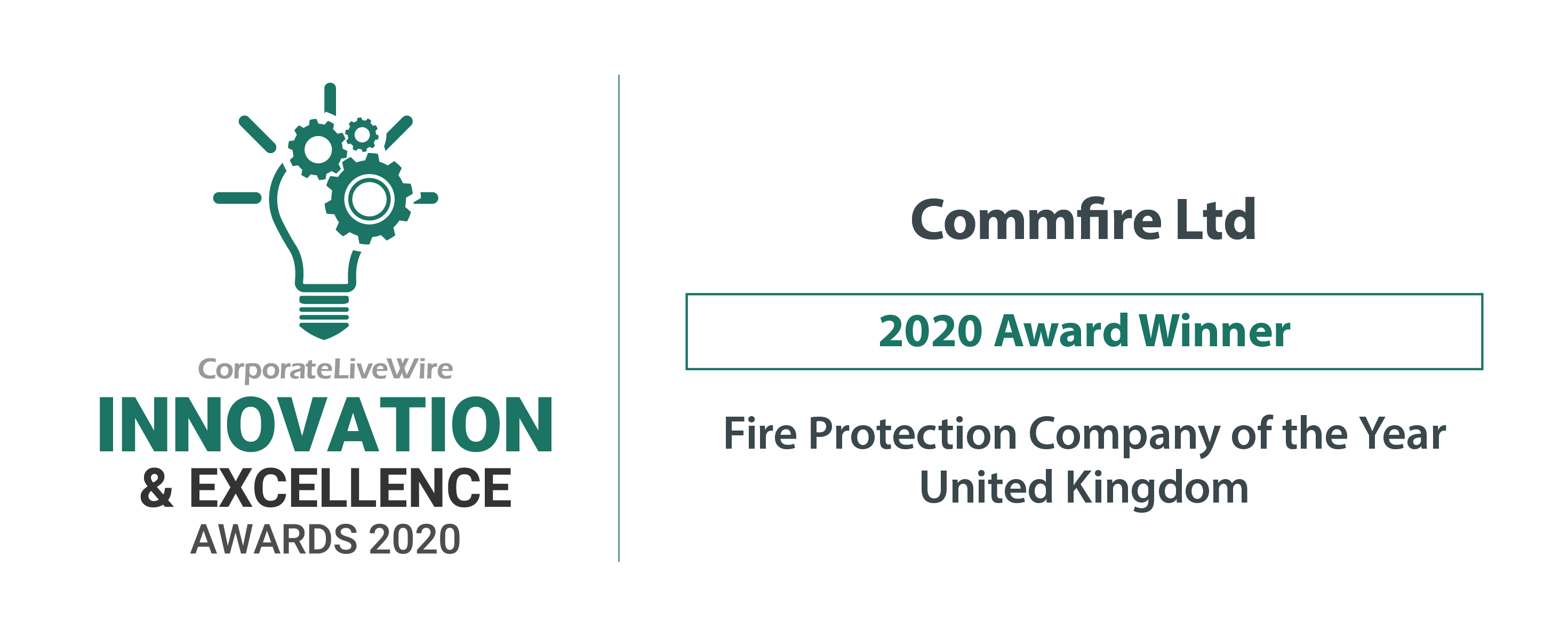 Commfire Ltd-innovation excellence award