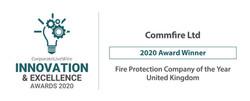 Commfire Ltd-innovation excellence award