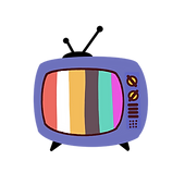 —Pngtree—color old tv video logo_4665955