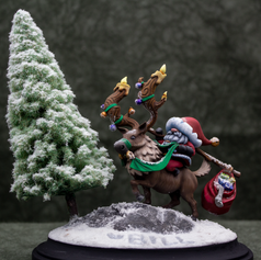 Santa by Aradia Miniatures