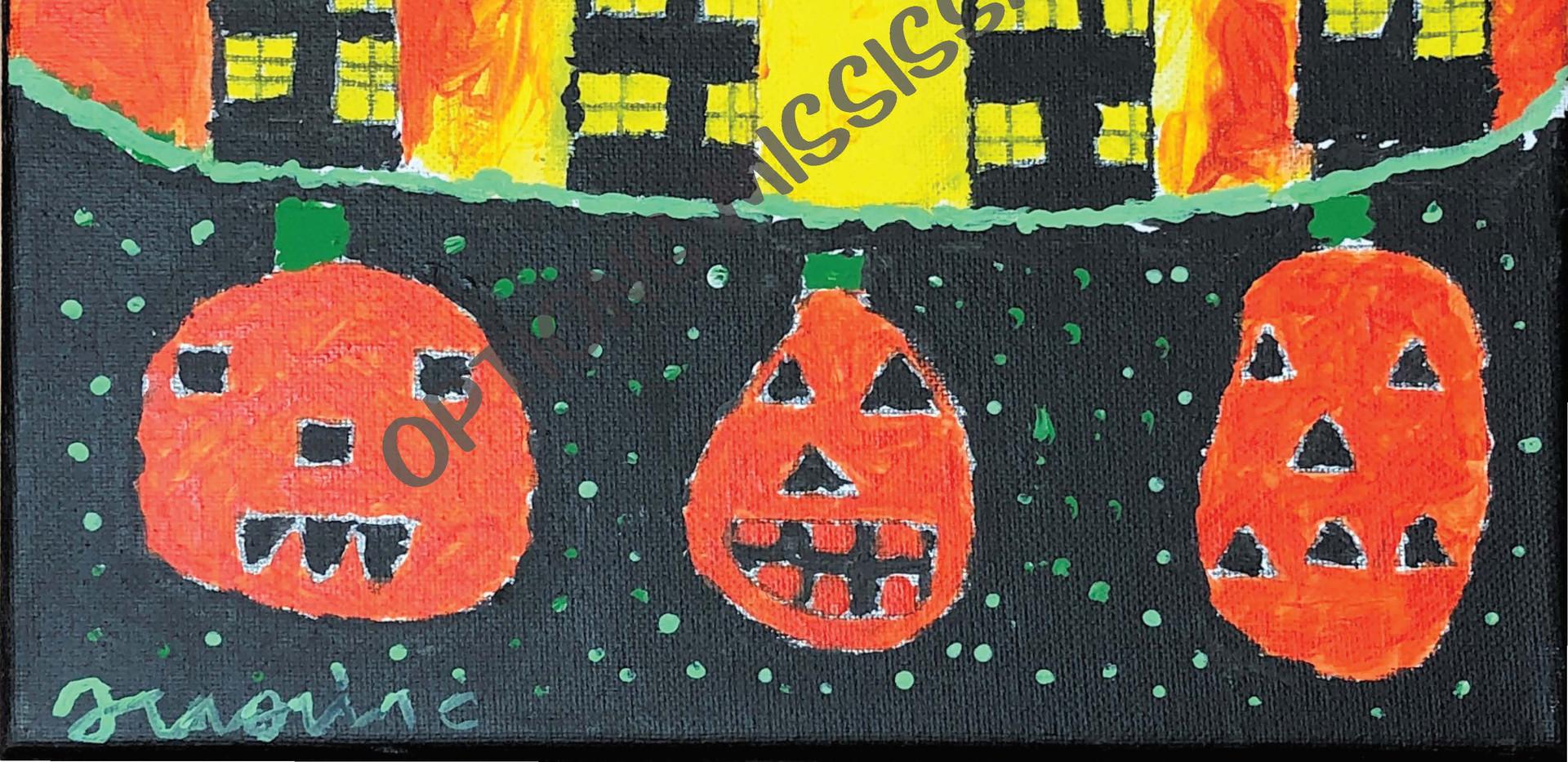 Happy Glowing Pumpkins