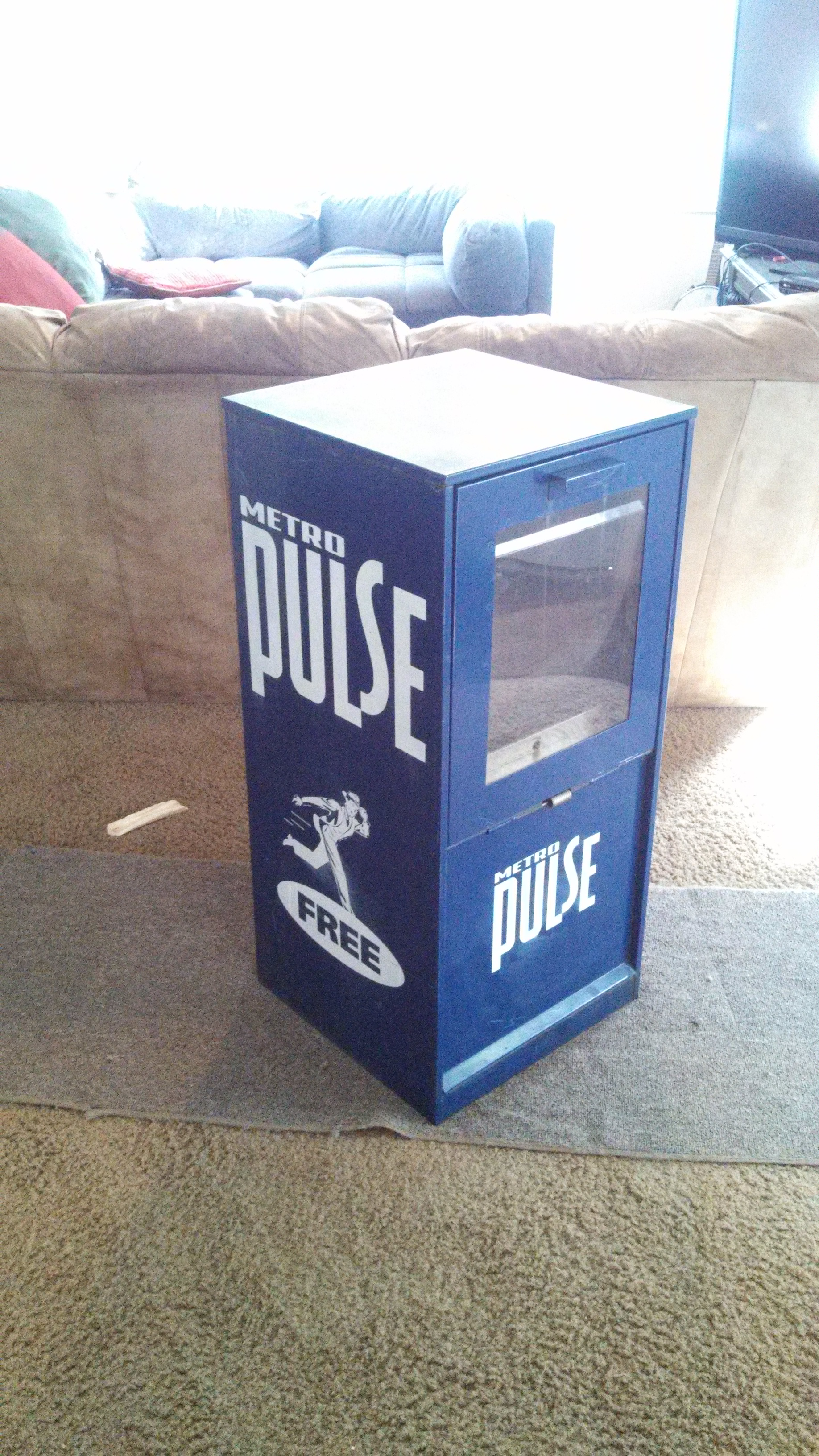 Metropulse Paper Box Design