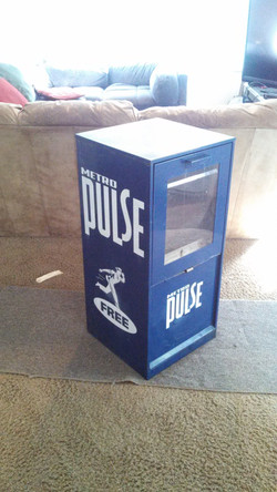Metropulse Paper Box Design
