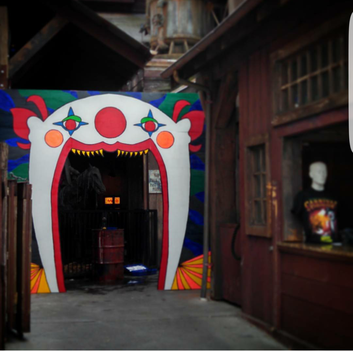 Clown Entrance
