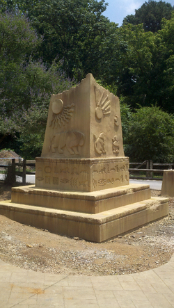 Knoxville Zoo Obelisk Project